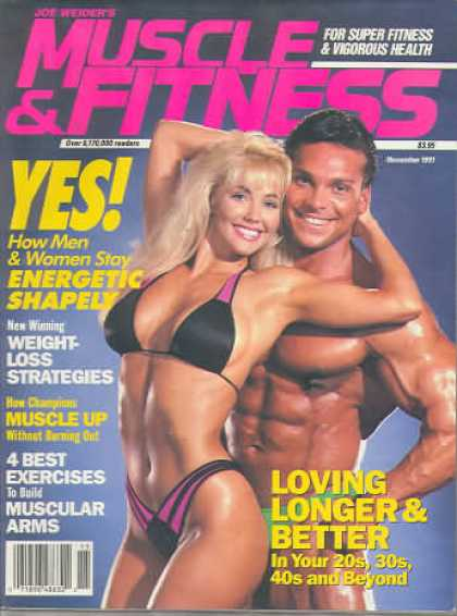 Muscle & Fitness - November 1991