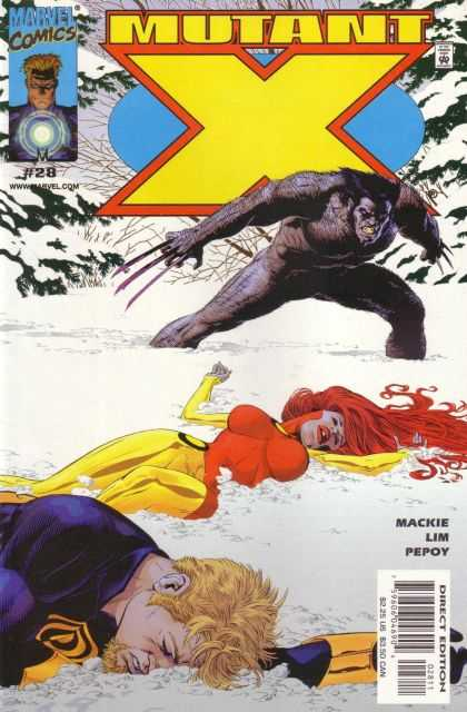 Mutant X 28 - Michael Golden
