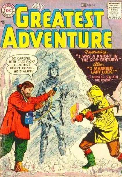 My Greatest Adventure 13 - Ice - Knight - Scientist - Dc Comics - Pickaxe