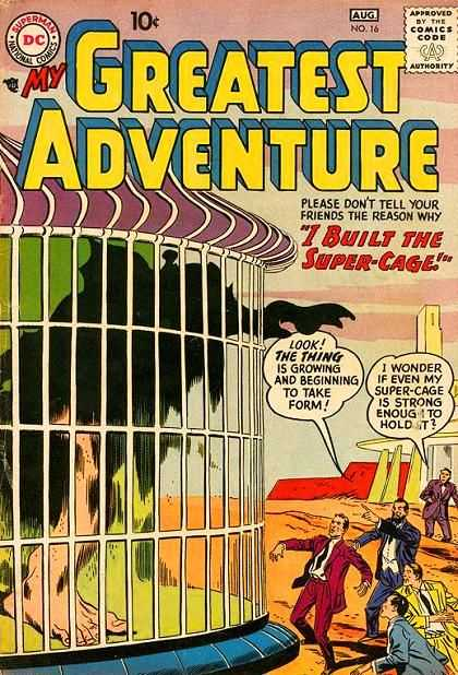 My Greatest Adventure 16 - Cage - Big Foot - Black Reaching - Bars - Purple Top