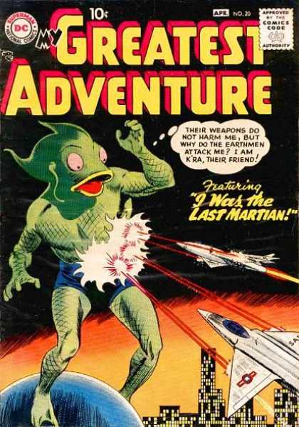 My Greatest Adventure 20 - Martian Massacre - Martian Means Well - Trigger-happy - Night-fight - War Of The Worlds