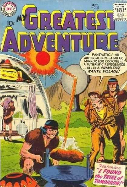 My Greatest Adventure 23 - My Greatest Adventure - Dc Comics - September - 23 - Tribe Of Tomorrow