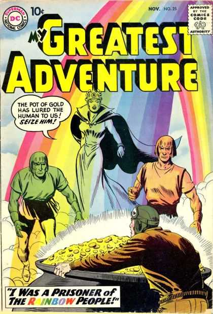 My Greatest Adventure 25 - Rainbow - Ghost - I Was A Prisoner Of The Rainbow People - Coins - Pot Of Gold