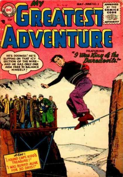 My Greatest Adventure 3 - Daredevils - Wire - Ice - Crowd - Capt Kidds Treasure