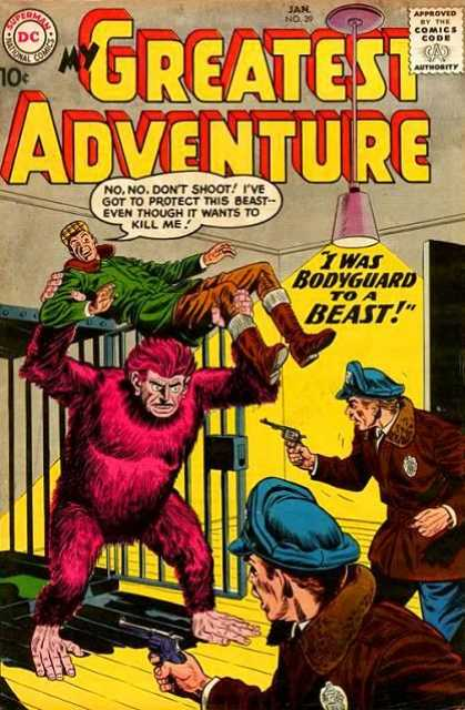 My Greatest Adventure 39 - Beast - Bodyguard - Police - Cage - Guns