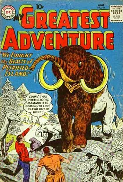 My Greatest Adventure 44 - Mammoth - Beasts Of Petrified Island - Ice Age - Coming To Life - Prehistoric