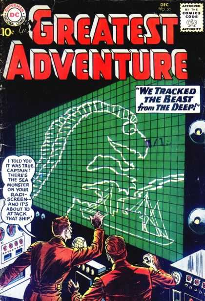 My Greatest Adventure 50 - Sea Monster - Captain - Greatest Adventure - Best From The Deep - Dinosorous