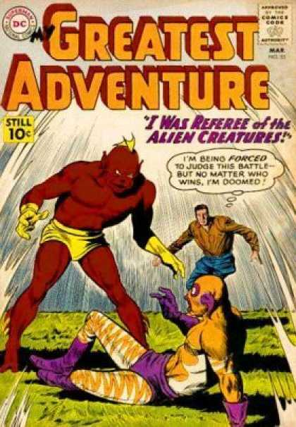 My Greatest Adventure 53 - Dc - Monster - Battle - Man - Comics Code