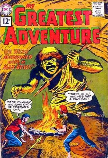 My Greatest Adventure 62 - Spear - Man Beast - Lair - Fire - Marooned