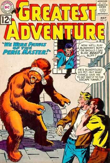 My Greatest Adventure 67 - We Were Pawns Of The Peril Master - Now Well Play Blindmans Buff - Bars - Monster - Hes Blindfolded His Pet