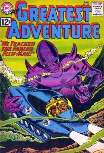 My Greatest Adventure 70 - Fish-man - Fabled - Underwater - Submarine - Grip