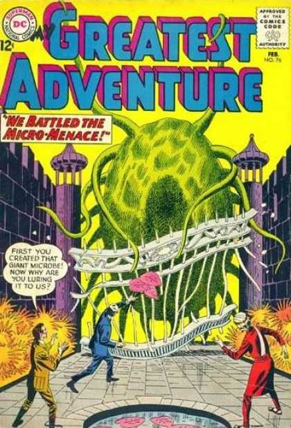 My Greatest Adventure 76 - Microbe - Giant - Monster - Micro-menace - Luring