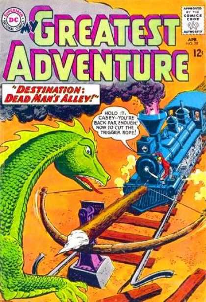 My Greatest Adventure 78 - Train - Comics Code - Destination - Greatest - Adventure