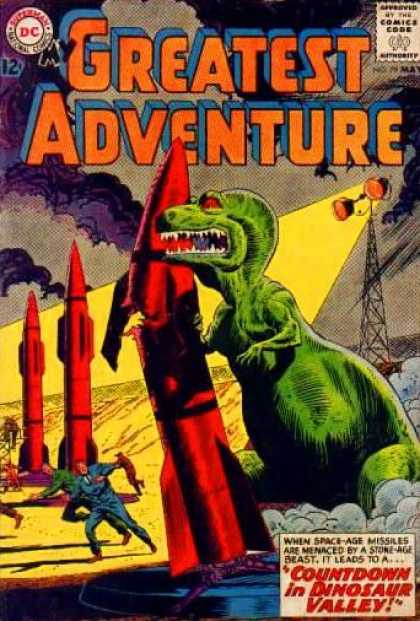 My Greatest Adventure 79 - Dinasaur - Smoke - Man - People - Fire
