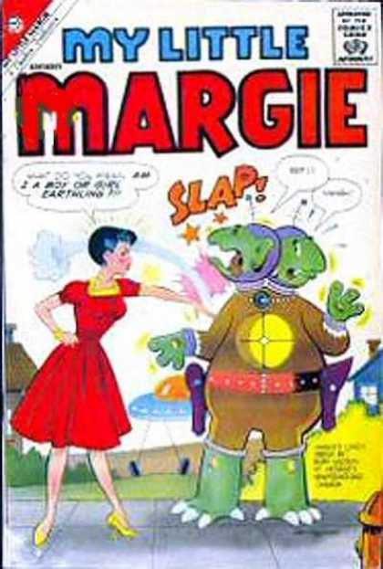 My Little Margie 14 - Tv - Humor - Aliens - Slap - Silly