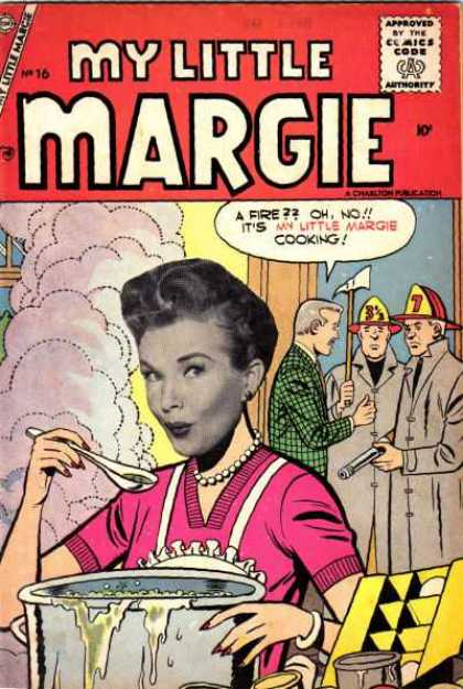 My Little Margie 16 - Margie - Little - Cooking - Woman - Gentleman