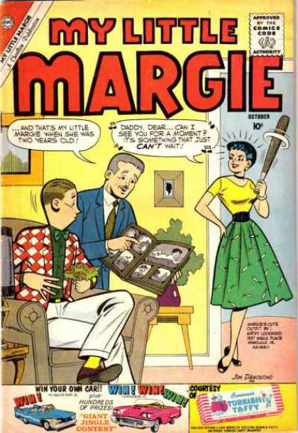 My Little Margie 32 - My Little Margie - Turkish Taffie - Comics Code - October