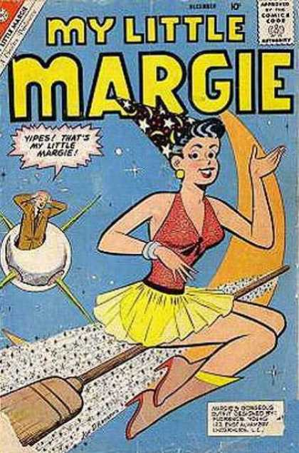 My Little Margie 33 - Approved By The Comics Code - Broom - Woman - Man - September