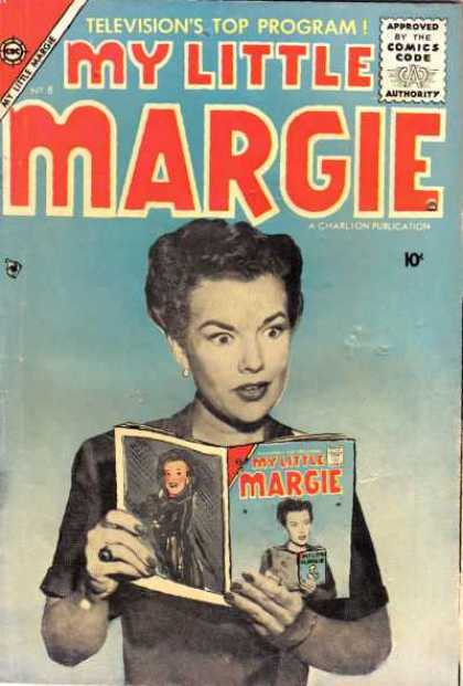 My Little Margie 8 - Televisions Top Program - Approved By The Comics Code - Authority - Woman - Book