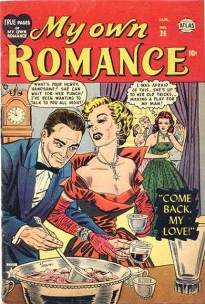 My Own Romance 26 - Adult Comic - January Issue - Punch Bowl - Party - Woman Trying To Steal Boyfriend