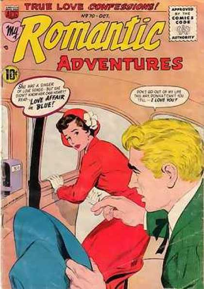 My Romantic Adventures 70 - My Romantic Adventures - True Love Confessions - Man - Woman - Inside Car