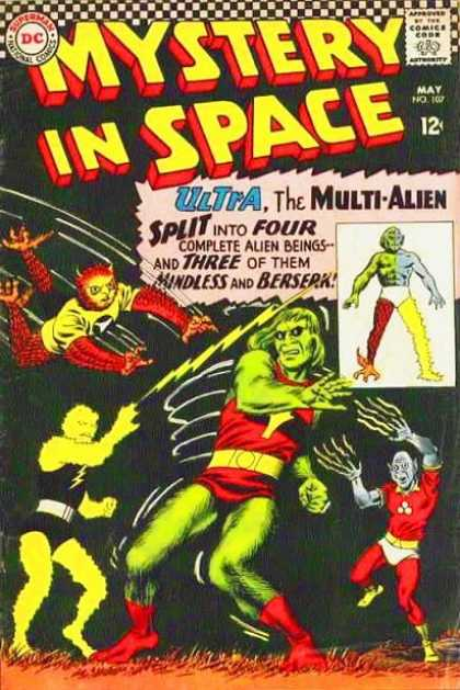 Mystery in Space 107 - May - Dc - Ultra The Multi-alien - 12 Cents - Creatures