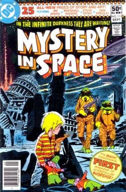 Mystery in Space 111 - Joe Kubert