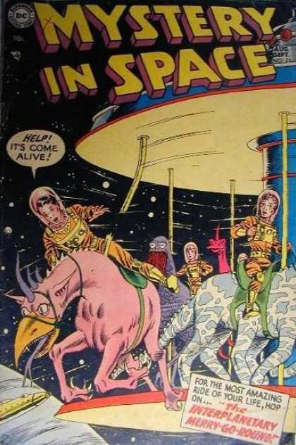 Mystery in Space 21 - Merry-go-round - Interplanetary - Broken - Ride - Space