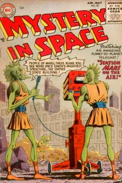 Mystery in Space 25 - Dc - Apr-may - No 25 - 25 - Station Mars