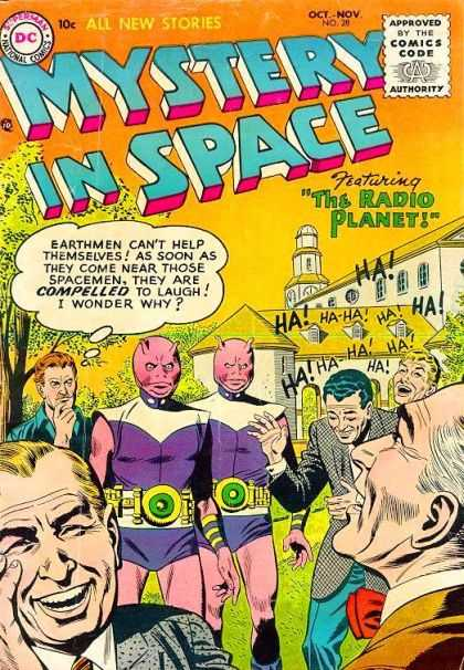 Mystery in Space 28