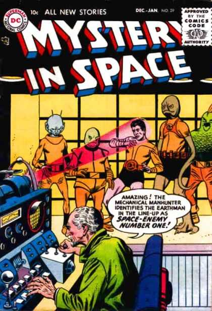 Mystery in Space 29 - Alien - Laser - Spaceman - Martian - Evil Scientist
