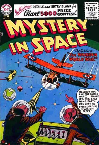 Mystery in Space 33