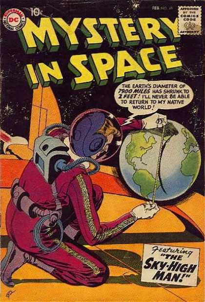 Mystery in Space 49 - Dc - Dc Comics - Mystery - Space - Sky High Man