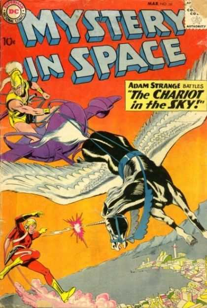 Mystery in Space 58 - Horse - Sky - Wire - Rope - Cap