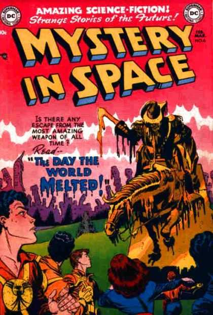 Mystery in Space 6 - Dc - Superman - National Comics - Amazing Science Fiction - The Day The World Melted - Shane Davis