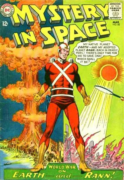 Mystery in Space 82 - Mystery In Space - 12cent - Earth - Rann - World
