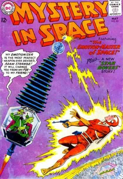 Mystery in Space 83 - Dc - Sci-fi - Adam Strange - Emotion-master - Star Rovers