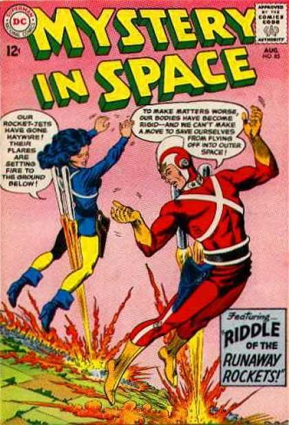Mystery in Space 85 - Approved By The Comics Code Authority - Superman - National Comics - Dc - Riddle