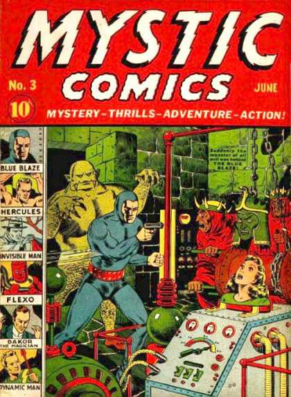 Mystic Comics 3 - Power Friends - Adventure League - Super Friends - Super Heroes - Mystic Heroes