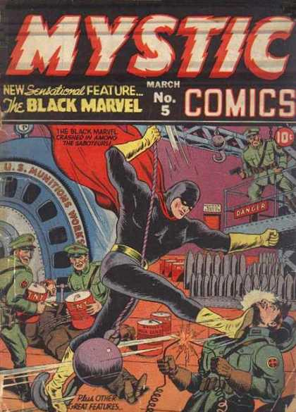 Mystic Comics 5 - Alex Schomburg