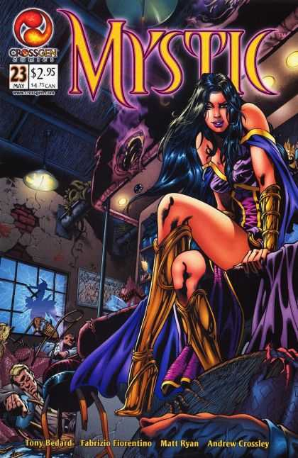 Mystic 23 - Dark Mistress - Powerful Woman - Female Domination - Butt Kicked By A Girl - Sinful Conquest - Fabrizio Fiorentino, Matt Ryan