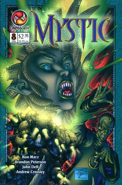 Mystic 8 - Horror World - Rise Of The Devil - Queen Of Nights - Vampire Fight Back - Killing At Nights - Brandon Peterson, John Dell