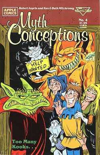 Myth Conceptions 4 - Sharp Teeth - Help Wanted - Bats - Witch - Robert Asprin