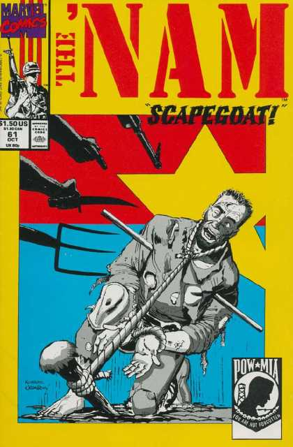 Nam 61 - Marvel Comics - Soldier - Approved By The Comics Code - Scapegoat - Pow Mia
