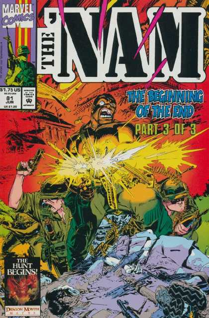Nam 81 - Marvel Comics - Approved By The Comics Code - The Beginning Of The End - Soldier - The Hunt Begins
