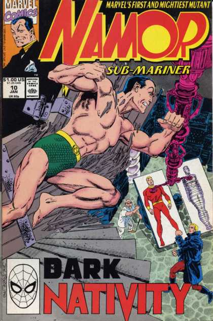 Namor 10 - Marvel Comics - Namor - Marvels First And Mightiest Mutant - Sub-mariner - Dark Nativity