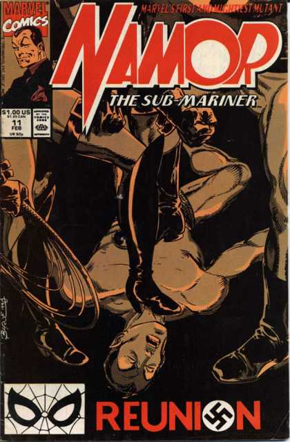 Namor 11 - Marvel Comics - The Sub-mariner - Boot - Mightest Mutant - Reunion