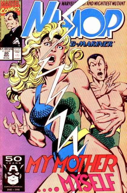 Namor 20 - Marvel - Mightiest Mutant - 20 - Nov - B Mariner