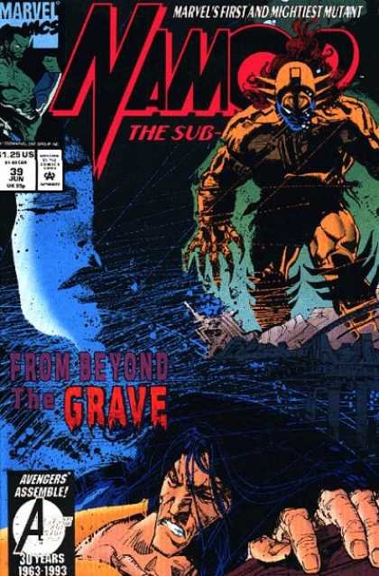 Namor 39 - Marvel - Marvels First And Mightiest Mutant - The Sub - From Beyond The Grave - Avengers Assemble