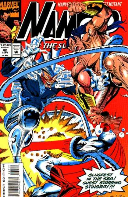 Namor 42 - Marvel - Long Hair - Tenticles - Silver - Lazers